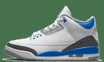 Air Jordans 3 Retro Racer Blue CT8532-145
