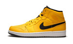 Air Jordans 1 Mid Taxi Yellow