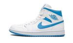 Air Jordans 1 Mid Sail Light Blue BQ6472-114