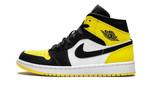 Air Jordans 1 Mid Yellow Toe 852542-071