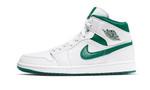Air Jordans 1 Mid White Mystic Green CD6759-103