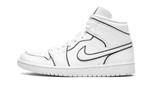 Air Jordans 1 Mid Iridescent Reflective White CK6587-100