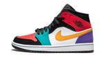 Air Jordans 1 Mid Multicolor 554724-125