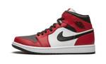 Air Jordans 1 Mid Chicago Black Toe 554724-069