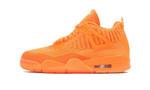 Air Jordans 4 Retro Flyknit Orange