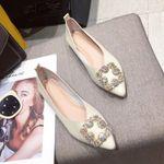 Zapatos náuticos de buena calidad para mujer, zapatillas femeninas planas, de alta calidad, marca de moda, A1927 4.8