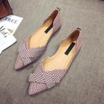 Fashionable flat shoes for women, narrow-toed nautical shoes, casual,  A1394, 2021