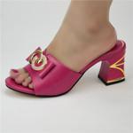 Zapatos africanos de tacón con diamantes de imitación para mujer, sandalias de lujo de estilo italiano