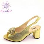 Zapatos italianos de fiesta para mujer, calzado de boda africano de alta calidad, con Cristal púrpura, para novia