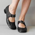Zapatos medievales de cuero para mujer, botines de mediana edad, botas renacentistas victorianas