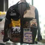 EWQ-chaqueta vaquera Vintage de manga larga, abrigo de moda de ocio, color negro, talla grande