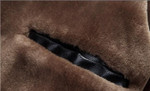 Chaqueta de piel S-4XL para hombre, abrigo grueso y cálido para motocicleta