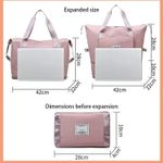 Large Capacity Folding Waterproof Travel Bags
