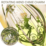 Butterfly Wind Chime Stainless Steel Windmill