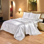 Silk Bedding Set (FREE SHIPPING + 50% Off Today Only)