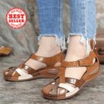 #1 Trending 2021 | Birkenstock PREMIUM Leather Retro Vintage Arch Support Comfy Round Toe Sandals