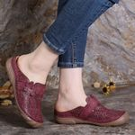 Comfortable Birkenstock Retro Backless Flat Casual Sandals