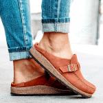 Birkenstock Clogs Suede Leather Slip-On Sandals