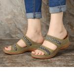 Handmade Stitching Birkenstock Hollow Casual Comfy Sandals