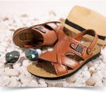 [#1 SUMMER 2021] Men Big Size 14 Summer Classic Roman Soft Leather Sandals