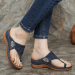 Birkenstock PREMIUM Flower Embroidered Comfy Arch support Sandals