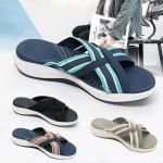Birkenstock Damping sole up-gradation Stretch Cross Slide Sandals