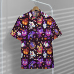 Gearhumans 3D Happy Halloween With PKM Custom Hawaii Shirt