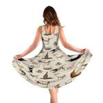 Gearhumans 3D Animal Yoga Vegetarian Custom Women Dress