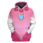 Gearhumans 3D Princess Peach Custom Tshirt Hoodie Apparel