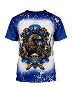 Gearhumans 3D Ravenclaw House Of The Wise Custom Bleached Tshirt