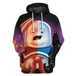 Gearhumans 3D Stay Puff All Puffed Up Custom Hoodie Tshirt Apparel