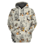 Gearhumans 3D Halloween Town With Boxer Custom Tshirt Hoodie Apparel