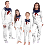 Gearhumans 3D Ghostbusters Stay Puff Marshmallow Custom Family Pyjamas