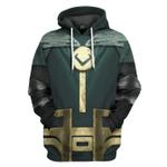 Gearhumans 3D Loki Costume Custom Tshirt Hoodie Apparel