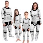 Gearhumans 3D Star Wars Stormtrooper Custom Family Pajamas