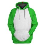 Gearhumans 3D Yoshi Custom Hoodie Tshirt Apparel