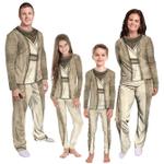 Gearhumans 3D Star Wars Yoda Cosplay Custom Family Pajamas