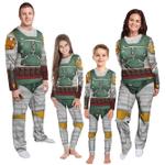 Gearhumans 3D Star Wars Boba Fett Custom Family Pyjamas