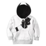 Gearhumans 3D Marshmello Fortnite Custom Kid TShirts Hoodies Apparel