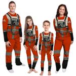 Gearhumans 3D Star Wars Rebel Pilot Custom Family Pajamas