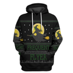 Gearhuman 3D Frequent Flyer Ugly Tshirt Hoodie Apparel