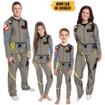 Gearhumans 3D Ghostbuster 1984 Custom Name Family Pyjamas