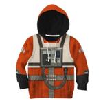 Gearhumans 3D Star Wars Rebel Pilot Tshirt Hoodie Apparel Kids
