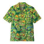 Gearhumans 3D TMNT Hawaii Shirt