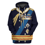 Gearhumans 3D Duke of Edinburgh Uniform Custom Tshirt Hoodie Apparel