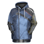Gearhumans 3D The Falcon And The Winter Soldier Bucky Barnes Custom Tshirt Hoodie Apparel