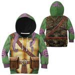 Gearhumans 3D Donatello TMNT Don Donnie Cosplay Custom Kids