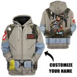 Gearhumans Ghostbusters 1984 Cosplay Custom Name Tshirt Hoodie Apparel