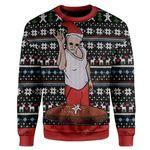 Gearhumans Ugly Santa Custom T-shirt - Hoodies Apparel