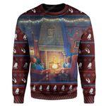 Gearhumans Ugly HP Custom Sweater Apparel